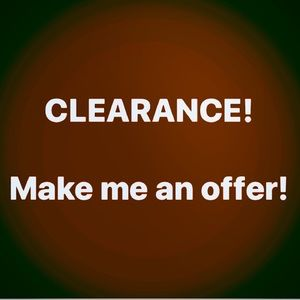 Limited time sale! Make a reasonable offer!